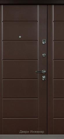 Двустворчатая дверь DR412